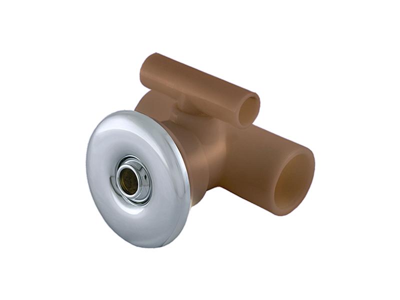 Pe as reposi o jato para hidro metal cromado for Metal cromado